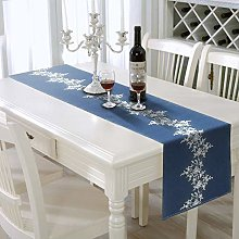 AAYU Embroidered Denim Table Runners 41 x 274 cm |