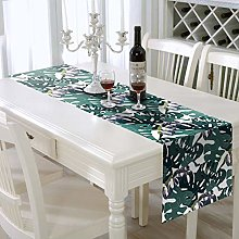 AAYU Leaf Print polyester Table Runner 14 x 108