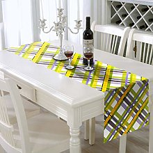 AAYU Tartan Table Runner Imitation Linen 14 x 108