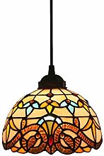 AAZX Tiffany Style Stained Glass Ceiling Pendant