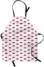 ABAKUHAUS Animal Apron, Modern Pop Art Style