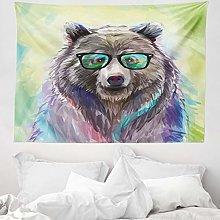 ABAKUHAUS Animal Tapestry, Funny Cool Low Wild