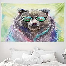 ABAKUHAUS Animal Tapestry, Funny Cool Low Wild