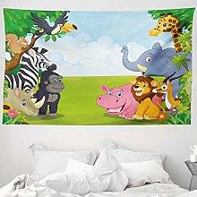 ABAKUHAUS Animal Tapestry, Kids Design Children