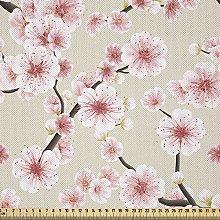 ABAKUHAUS Asian Fabric by The Yard, Japanese