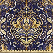 ABAKUHAUS Asian Fabric by The Yard, Oriental