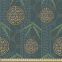 ABAKUHAUS Bamboo Fabric by The Yard, Authentic