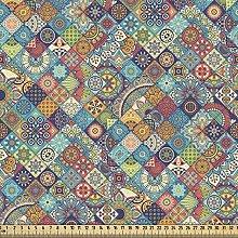ABAKUHAUS Bohemian Fabric by The Yard, Geometric