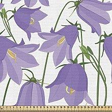 ABAKUHAUS Botanical Fabric by The Yard, Burgeoning