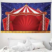 ABAKUHAUS Circus Tapestry, Canvas Tent Circus
