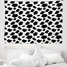 ABAKUHAUS Cow Print Tapestry, Cattle Skin Pattern