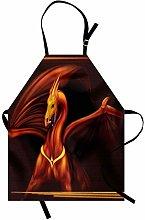 ABAKUHAUS Dragon Apron, Legandary Gold Tricorn