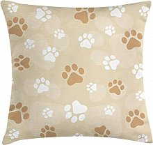 ABAKUHAUS Earth Tones Throw Pillow Cushion Cover,