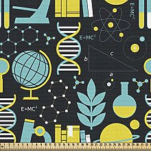 ABAKUHAUS Education Fabric by The Yard, Science