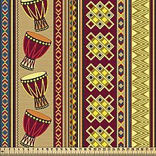 ABAKUHAUS Ethnic Fabric by The Yard, African