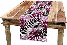 ABAKUHAUS Exotic Table Runner, Tropical Lush