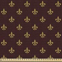 ABAKUHAUS Fleur De Lis Fabric by The Yard, French