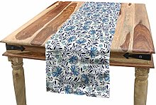 ABAKUHAUS Floral Table Runner, Blossoming