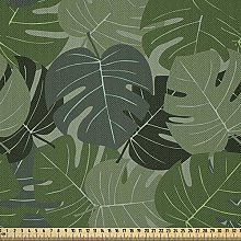 ABAKUHAUS Forest Green Fabric by The Yard,