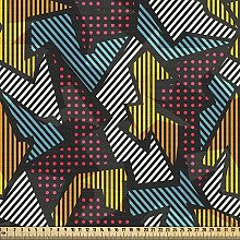 ABAKUHAUS Geometric Fabric by The Yard, Abstract