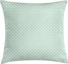 ABAKUHAUS Green Throw Pillow Cushion Cover, Retro