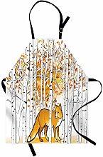 ABAKUHAUS Hunting Apron, Fox Hunting in Autumn