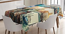 ABAKUHAUS Italian Tablecloth, Designed for