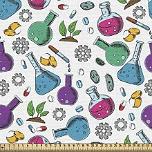 ABAKUHAUS Lab Fabric by The Yard, Chemicals