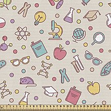 ABAKUHAUS Lab Fabric by The Yard, Colorful Pattern