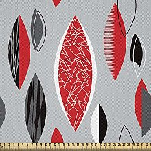 ABAKUHAUS Mid Century Fabric by The Yard, Abstract