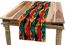ABAKUHAUS Modern Table Runner, Geometric Modern