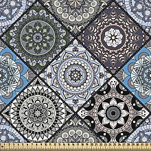 ABAKUHAUS Moroccan Fabric by The Yard, Detailed