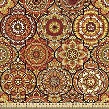 ABAKUHAUS Moroccan Fabric by The Yard, Vintage