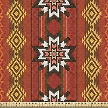 ABAKUHAUS Native American Fabric by The Yard,