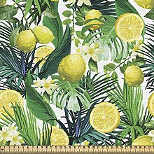 ABAKUHAUS Nature Fabric by The Yard, Tropical