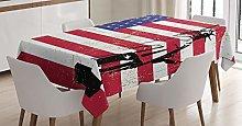 ABAKUHAUS New York Tablecloth, Liberty USA, Dining