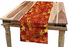 ABAKUHAUS Orange Table Runner, Nature Designs,