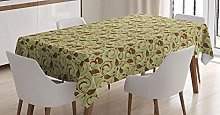 ABAKUHAUS Persian Tablecloth, Middle East Paisley