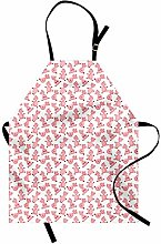 ABAKUHAUS Pig Apron, Cartoon Sitting and Smiling