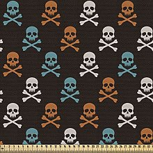 ABAKUHAUS Pirates Fabric by The Yard, Different