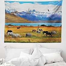 ABAKUHAUS Scenery Tapestry, Animal Farm with