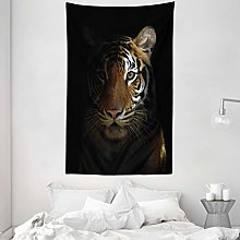 ABAKUHAUS Tiger Tapestry, King of Sundarbans