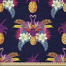 ABAKUHAUS Tropical Fabric by The Yard, Vivid