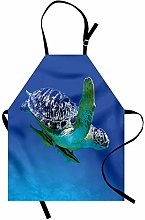 ABAKUHAUS Turtle Apron, Aquatic Theme Photo