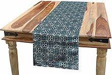 ABAKUHAUS Vintage Table Runner, Antique Motifs