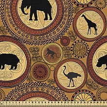 ABAKUHAUS Zambia Fabric by The Yard, African
