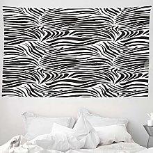 ABAKUHAUS Zebra Print Tapestry, Striped Zebra