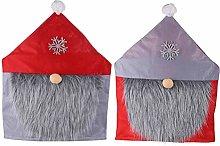 Abaodam 2Pcs Decorative Christmas Chair Cover