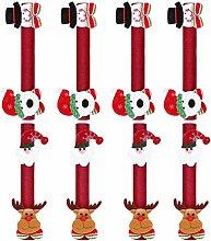 Abaodam 8Pcs Christmas Door Handle Gloves Oven
