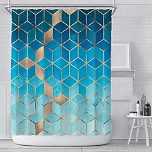 Abaysto Marble Shower Curtain Set for Bathroom,